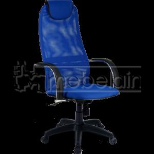 Офисное кресло Галакси Лайт синее