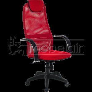 Офисное кресло Галакси Лайт красное