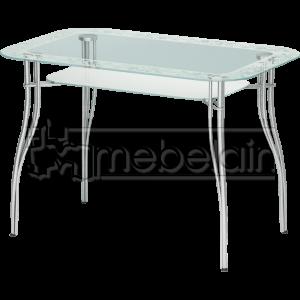 Стеклянный кухонный стол Мебелайн-5