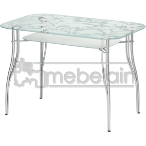 Стеклянный кухонный стол Мебелайн-6