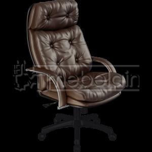 Офисное кресло №5 коричневое