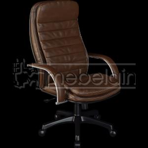 Офисное кресло №1 коричноевое