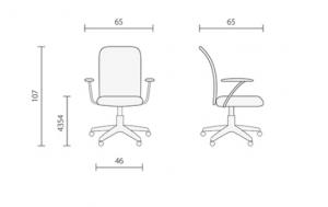 Офисное кресло Форум серое