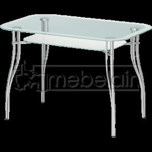 Стеклянный кухонный стол Мебелайн-4