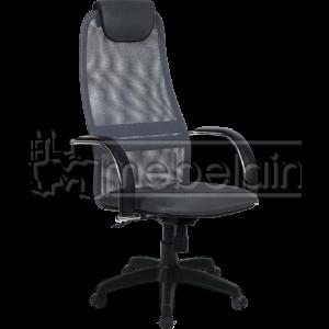 Офисное кресло Галакси Лайт серое