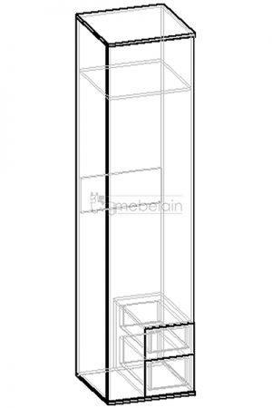 Колонка «Мебелайн-1» чертеж