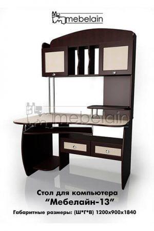 Компьютерный стол Мебелайн-13
