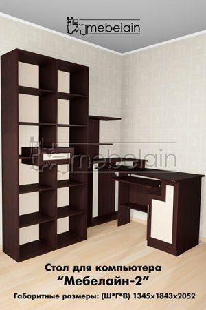Компьютерный стол Мебелайн-2