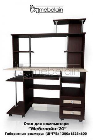 Компьютерный стол Мебелайн-24