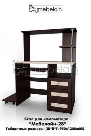 Компьютерный стол Мебелайн-28
