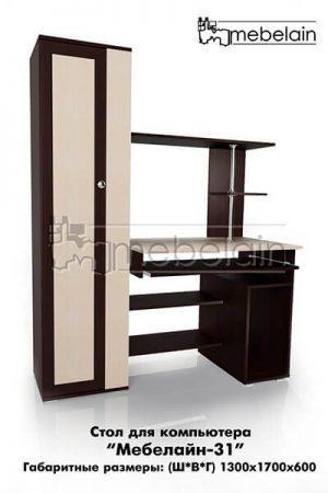 Компьютерный стол Мебелайн-31