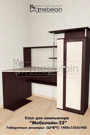 Компьютерный стол Мебелайн-32