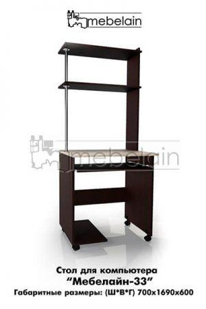 Компьютерный стол Мебелайн-33