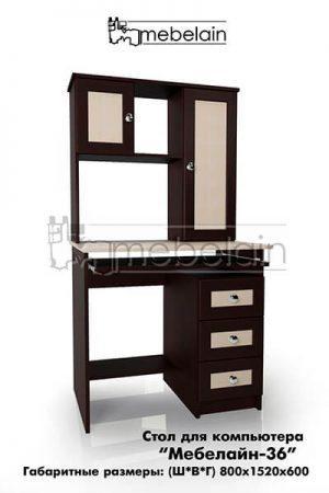Компьютерный стол Мебелайн-36