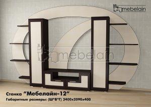 стенка для гостиной Мебелайн-12