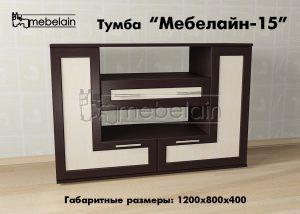 Тумба Мебелайн-15 в интерьере