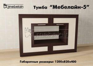 Тумба Мебелайн-5 в интерьере