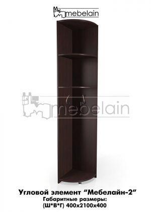 Угловой элемент Мебелайн-2