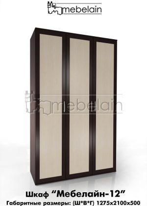 Распашной шкаф Мебелайн 12