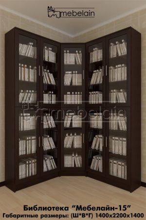 книжный шкаф Мебелайн-15 в интерьере