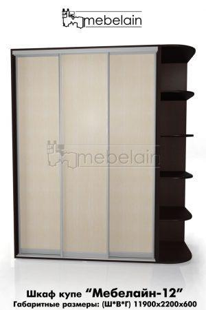 Шкаф-купе Мебелайн без зеркала 12