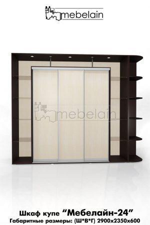 Шкаф-купе Мебелайн без зеркала 24