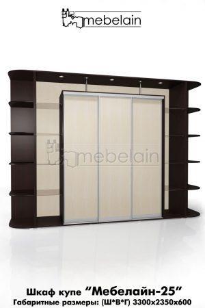 Шкаф-купе Мебелайн без зеркала 25