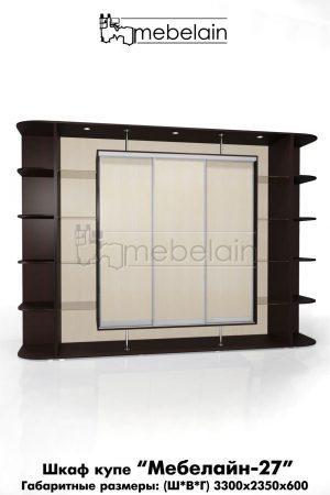 Шкаф-купе Мебелайн без зеркала 27