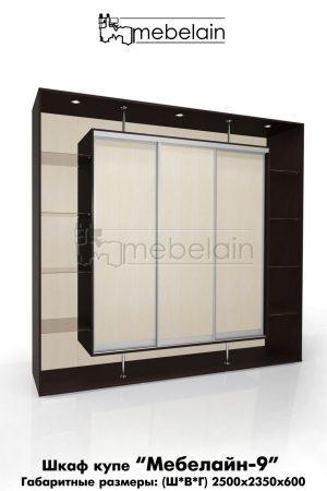 Шкаф-купе Мебелайн без зеркала 9