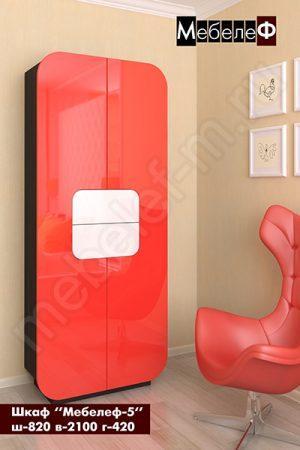Распашной шкаф Мебелеф 5