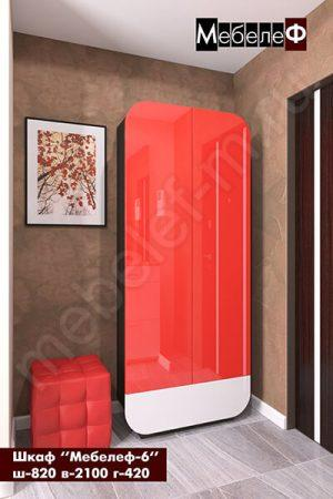 Распашной шкаф Мебелеф 6