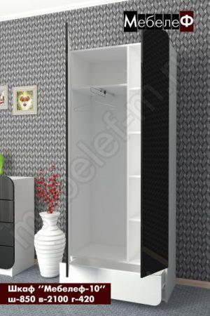 Распашной шкаф Мебелеф 10