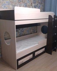 детская двухъярусная кровать Мебелайн-1