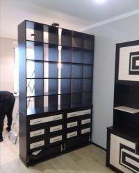 книжный шкаф на заказ от Мебелайн