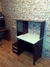 компьютерный стол Мебелайн-27 венге