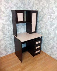 компьютерный стол Мебелайн-36 венге дуб молочный