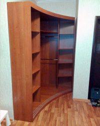 радиусный шкаф-купе Мебелайн-16