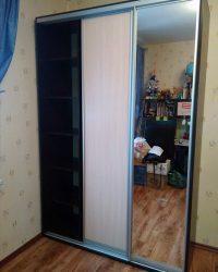 шкаф-купе с зеркалом Мебелайн-2 1