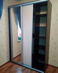 шкаф-купе с зеркалом Мебелайн-2