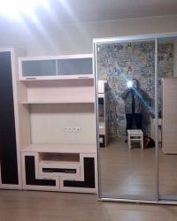 стенка для гостиной со шкафом Мебелайн-18 1